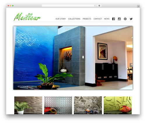 Mayer WordPress page template - meilleurproducts.com