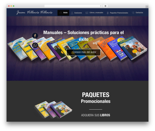 Modular WordPress template - coachingvillacis.com