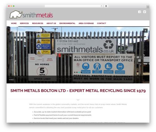 Theme WordPress WP_Spectrum - smithmetals.co.uk