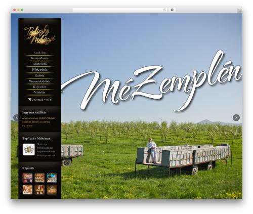 WordPress theme Chocolate - mezemplen.hu