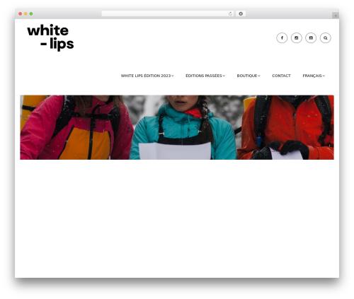 WordPress theme Nation - white-lips.com