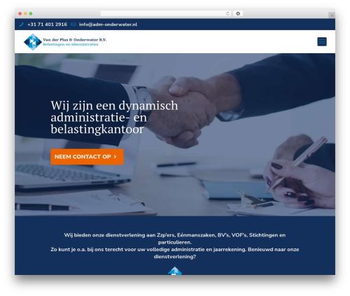 WordPress theme Optima - adm-onderwater.nl