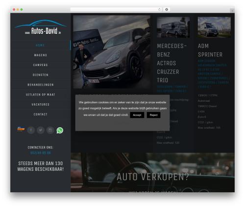Avada WordPress theme - autos-david.be