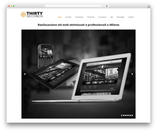 Best WordPress theme Immersion - realizzazionesiti-milano.it
