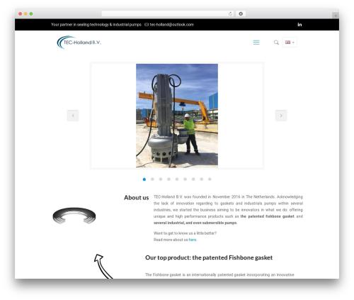 Betheme template WordPress - tec-holland.com