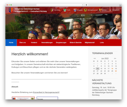 Business Leader best WordPress template - siebenbuerger-sachsen-nuernberg.de