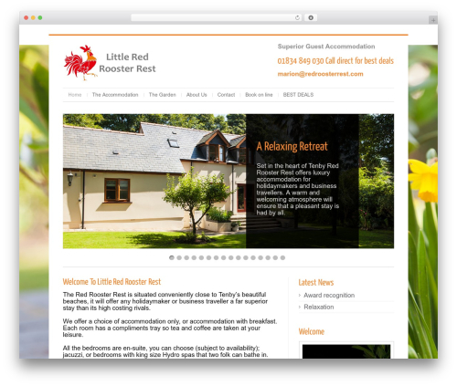 Cleanex WordPress template - redroosterrest.co.uk