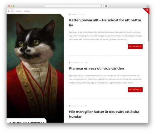 Cruzy free website theme - adelkatten.nu