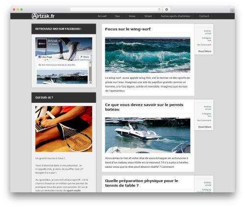 DualShock by MyThemeShop WordPress shop theme - artzak.fr
