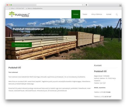 Free WordPress WP Simple Galleries plugin - puiduhall.ee
