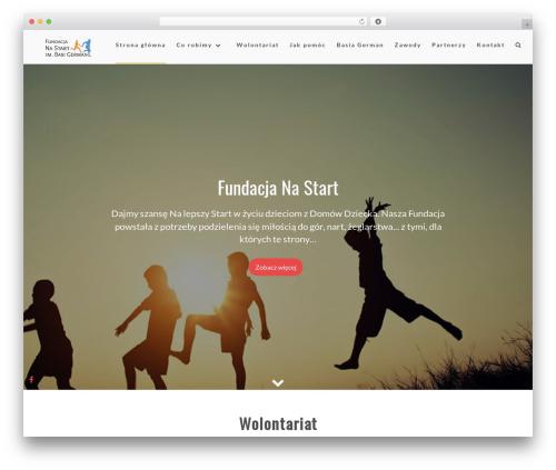 Layla free WordPress theme - fundacjanastart.pl
