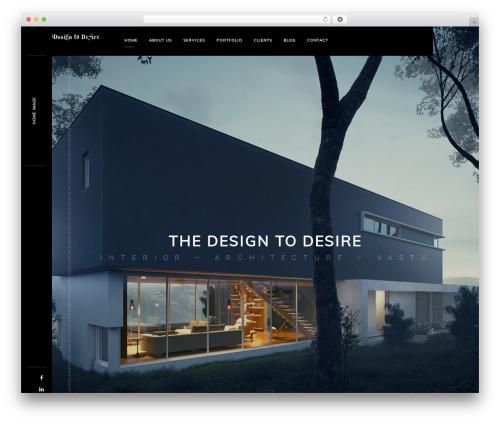 monolit theme WordPress - designtodesire.in