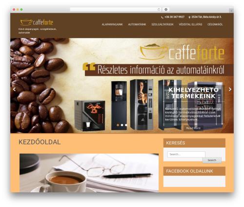 SKT Coffee WordPress free download - caffeforte.hu