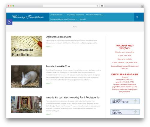 The7 WordPress page template - klasztor.wschowa.net.pl
