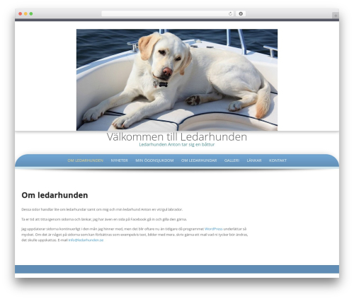 Theme WordPress Preferential - ledarhunden.se