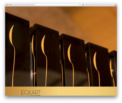 Twenty Seventeen WordPress template free - eckart-witzigmann-preis.de
