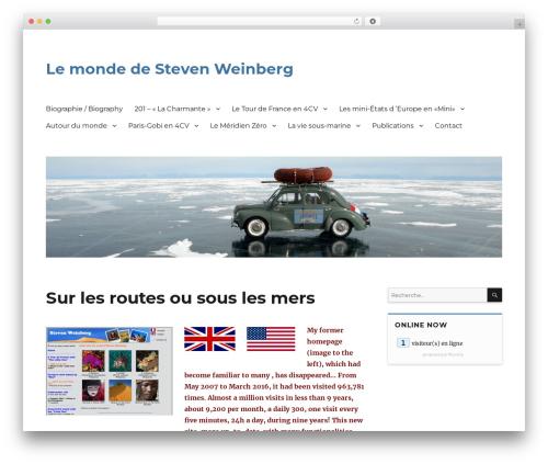 Twenty Sixteen WordPress theme download - weinberg.lu