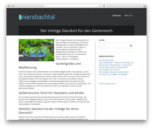 WordPress template DutchStartingUp - niersbachtal.de