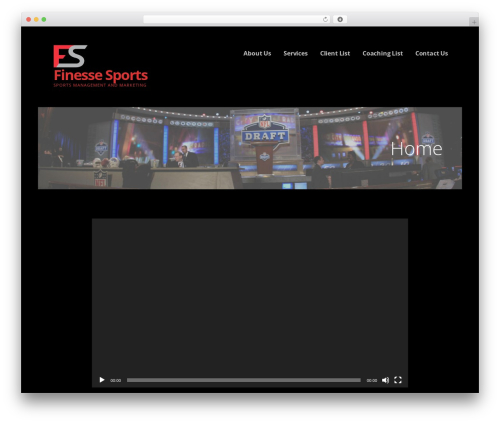 WP theme Ascension - finessesports.info