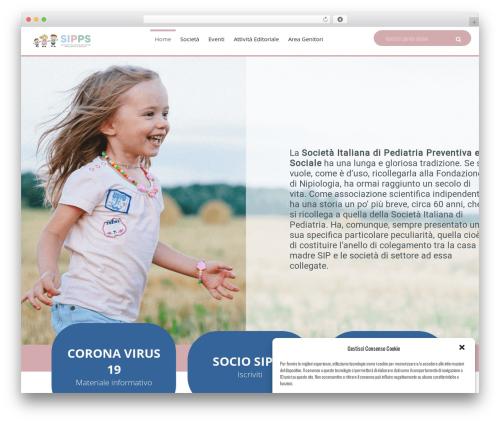 WP theme Kidsplanet - sipps.it
