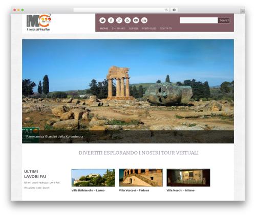 Yasmin best WordPress template - mc2quadro.it