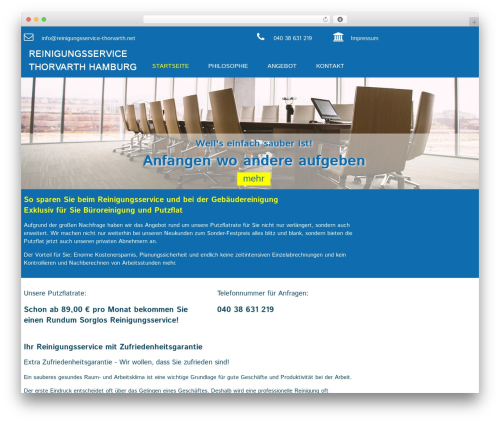 adobase 1.2 WordPress theme - reinigungsservice-thorvarth.net