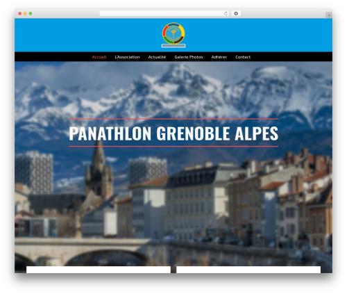AllStar WordPress theme - panathlon-grenoble-alpes.org