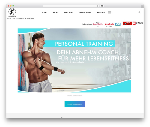 Aslan WordPress page template - athletic-life.de