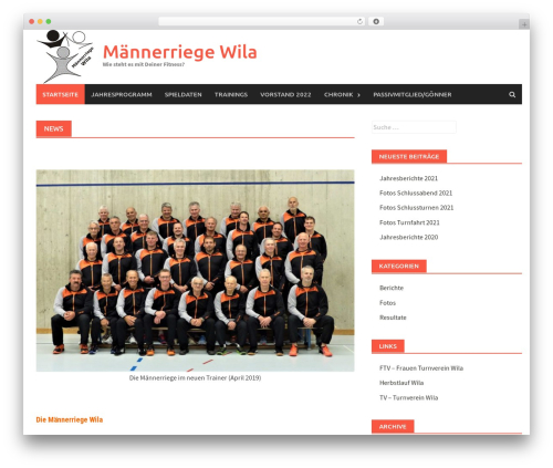Awaken Pro gym WordPress theme - mrwila.ch