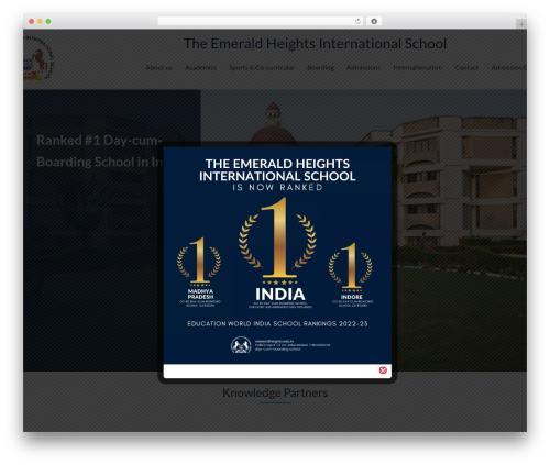 Best WordPress theme Smarty - emeraldheights.edu.in
