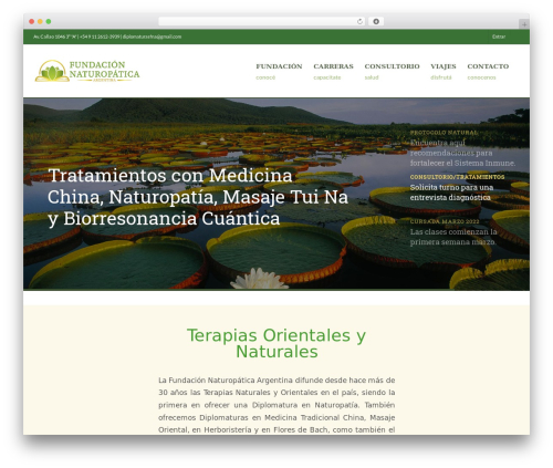 Best WordPress theme WPLMS - fundacionnaturopatica.org