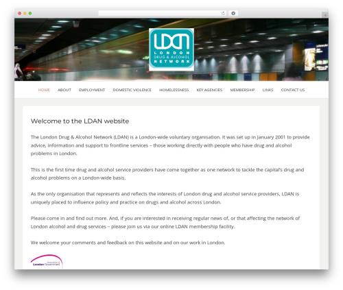 Bezel free WordPress theme - ldan.org.uk