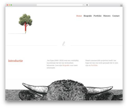 Bonno WordPress theme - eichas.nl