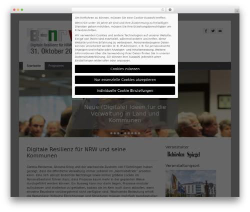 Catch Base Pro WordPress website template - e-nrw.info