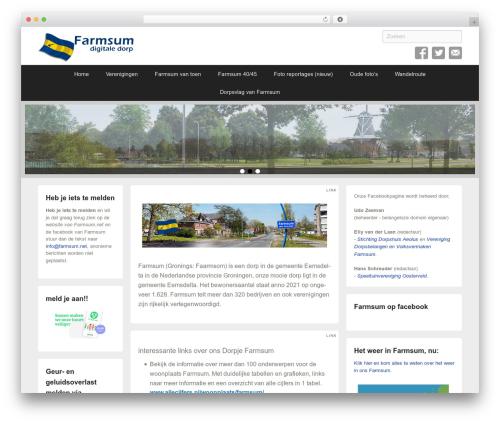 Catch Flames Pro WordPress theme - farmsum.net