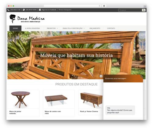 DashStore WP template - donamadeira.com.br