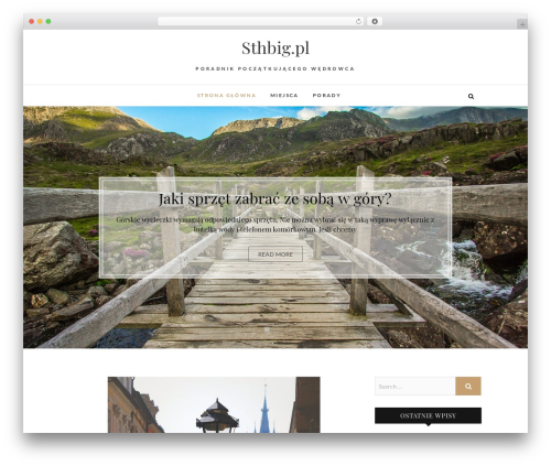 Edge free WP theme - sthbig.pl