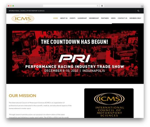 Elite motors WordPress theme - icmsmotorsportsafety.org