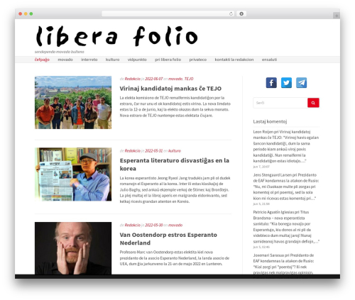 Gatsby WordPress template free - liberafolio.org