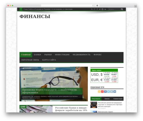 Jarida WordPress theme - winfinans.ru