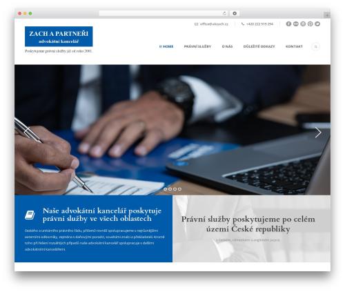 Lawyer Base best WordPress theme - akzach.cz