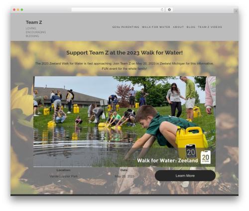 Maisha WordPress theme - team-z.net