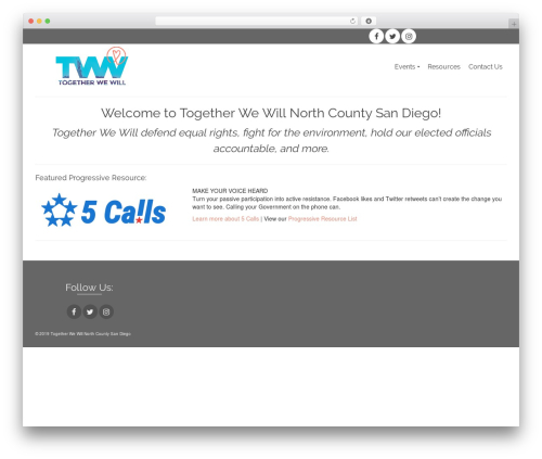 Pinnacle best free WordPress theme - twwncsd.org