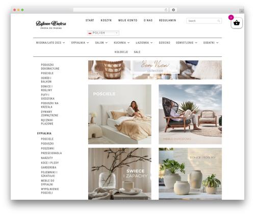 Shopper Responsive WordPress Woocommerce Theme WordPress shopping theme - bajkowewnetrza.pl