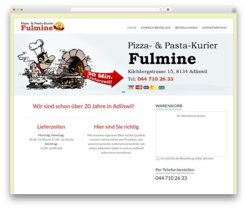 WordPress wppizza-delivery-by-postcode plugin - pizzakurier-adliswil.ch