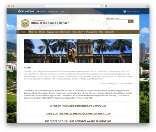 State child Template template WordPress - publicdefender.hawaii.gov