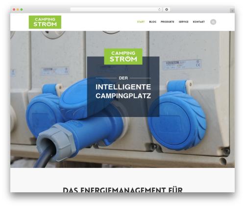 Swenson theme WordPress - camping-strom.de