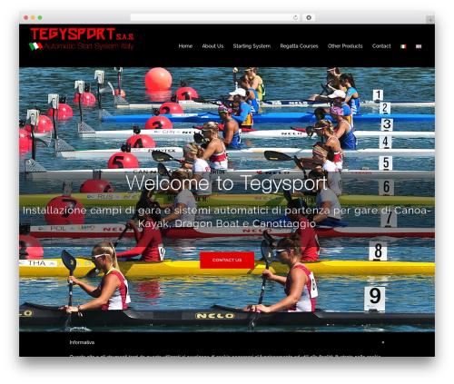 Sydney template WordPress free - tegysport.it