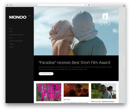 Template WordPress Showcase - monoo.si