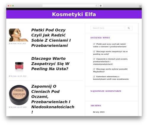 Trope WordPress free download - kosmetykielfa.pl